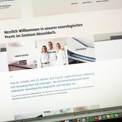 GEMEINSCHAFTSPRAXIS FÜR NEUROLOGIE –  Relaunch 2020