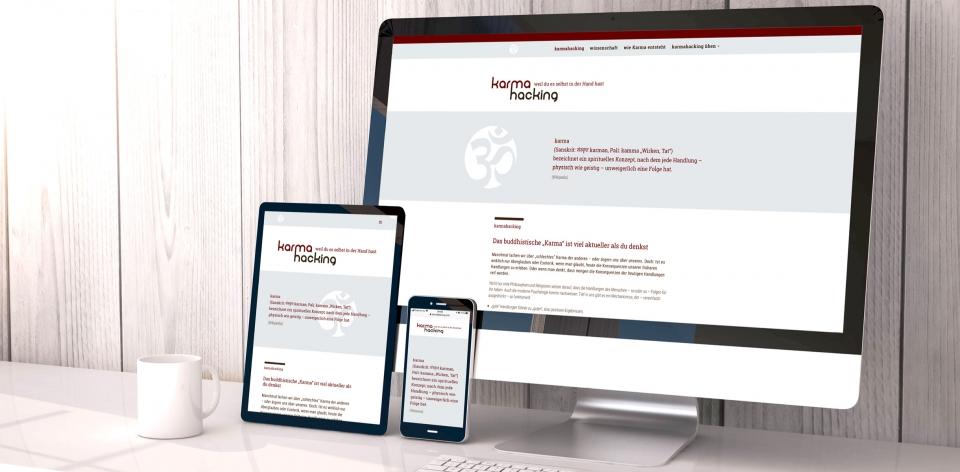 KARMAHACKING –  Die Website für besseres Karma